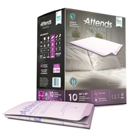 "Attends ALI-UP3036 Premier Heavy Absorbency 30""x36"" Underpad-60/Case"