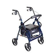 Drive Medical Duet Transport Wheelchair Walker Rollator