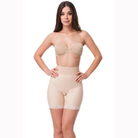 Isavela BE04 Stage 2 Open Buttock Enhancer Girdle-Mid Thigh Length