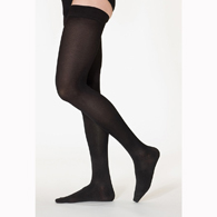 SIGVARIS 232N 20-30 mmHg Cotton Thigh Highs-Open Toe
