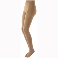 SIGVARIS 503P 30-40 mmHg Natural Rubber Pantyhose Open Toe
